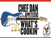 Chef Dan and the Appetizers, featuring Eddie V from the Eddie and Jobo Morning Show on K-HiTS 104.3.